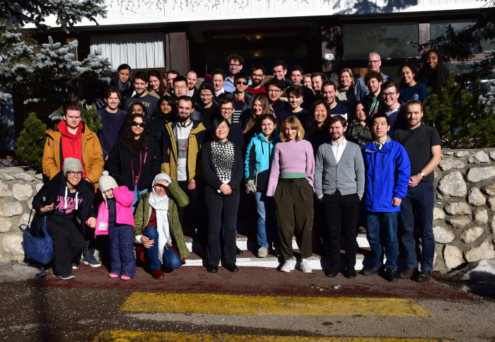 Participants at PE-CDT 2020 Winter School