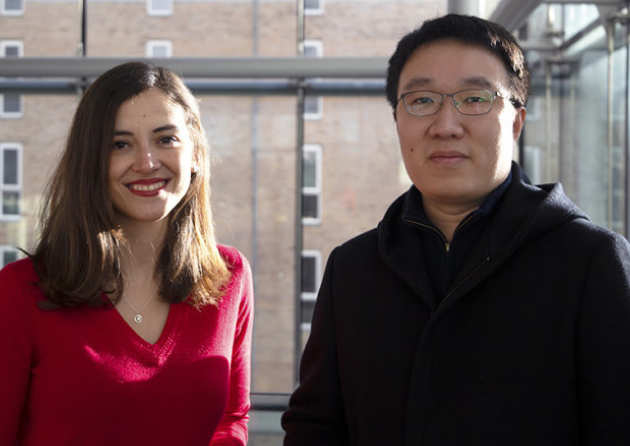 Parkinson's research fellows Dr Sarah Marzi and Dr Bing Li