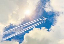 Small altitude changes could cut contrail impact of flights by up to 59 per cent