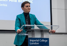 Serbian PM Ana Brnabić talks about country's tech transformation at Imperial