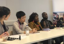 Global Health students and London voluntary sector share community expertise