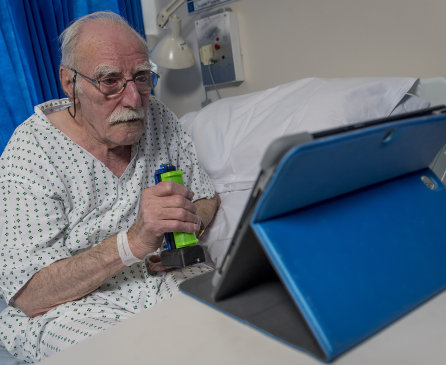 Donate a device and help hospitalised patients to keep in touch with loved ones