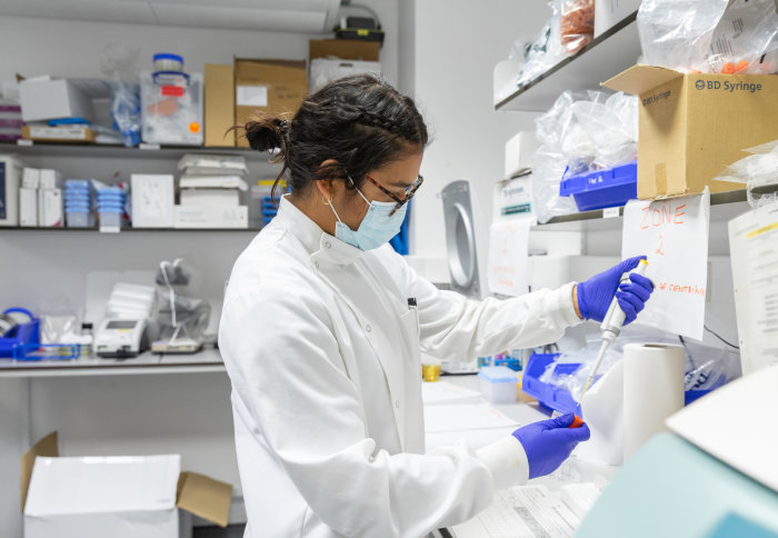 Imperial researcher working on the Oxford-led clinical trial testing a vaccine against COVID-19