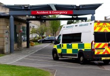 Big fall in numbers attending hospital emergency departments in England