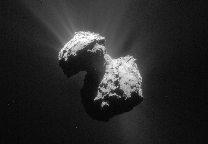 Photo of the comet