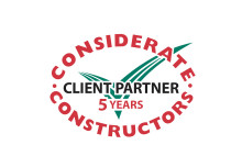 Five year commitment to considerate construction