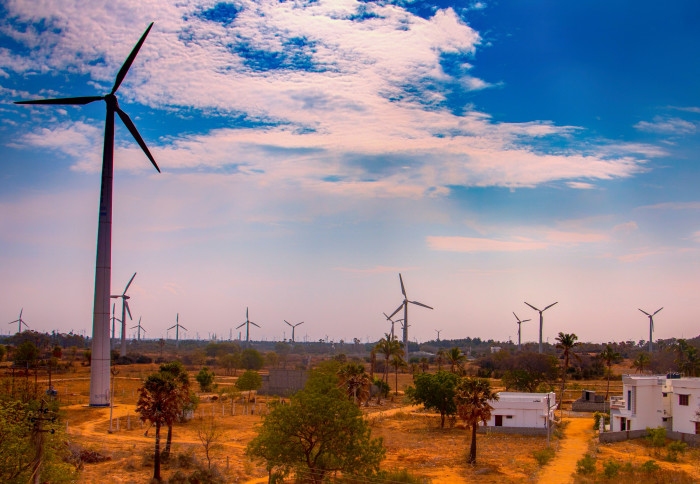 wind turbines in India