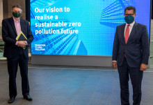 Business Secretary visits Imperial as Government announces new energy plans