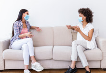 Coronavirus more likely to spread inside through maskless talking than coughing