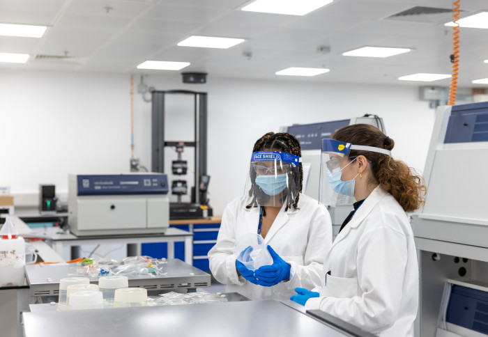 Polymateria's labs at White City