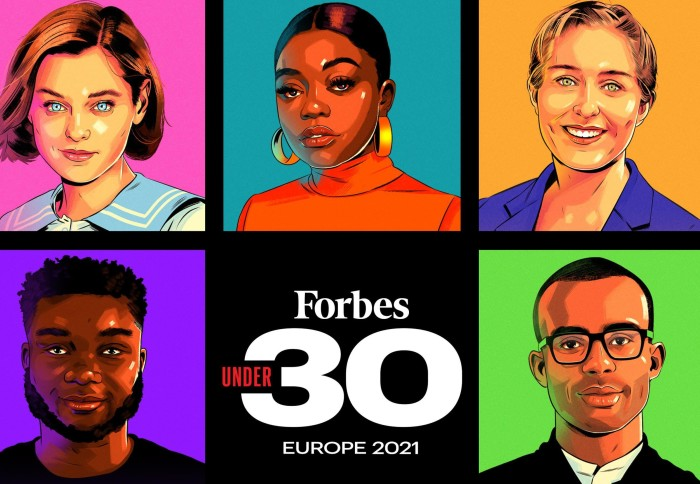 Forbes 30 Under 30 honourees