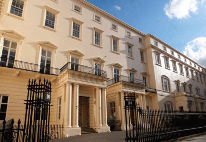 El edificio de la Royal Society