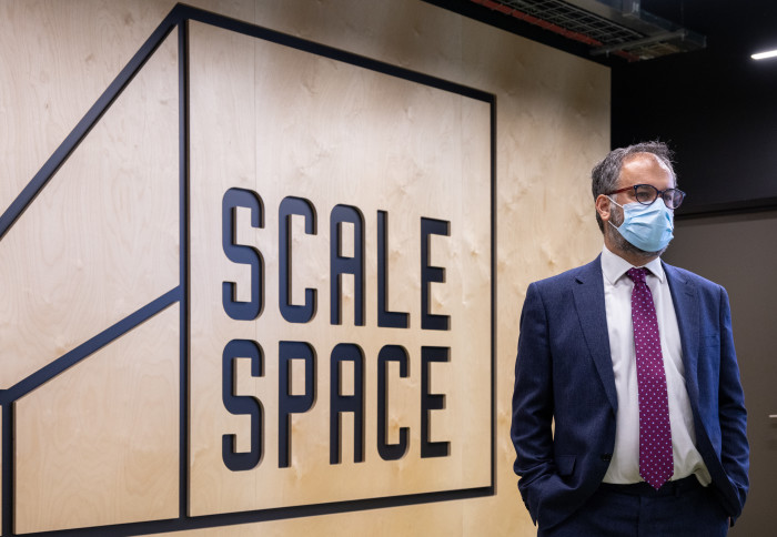 Paul Scully MP at Scale Space White Ciy  - newseventsimage 1623396740683 mainnews2012 x1 - Minister for London visits Scale Space White City | Imperial News