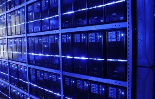 Data storage in racks