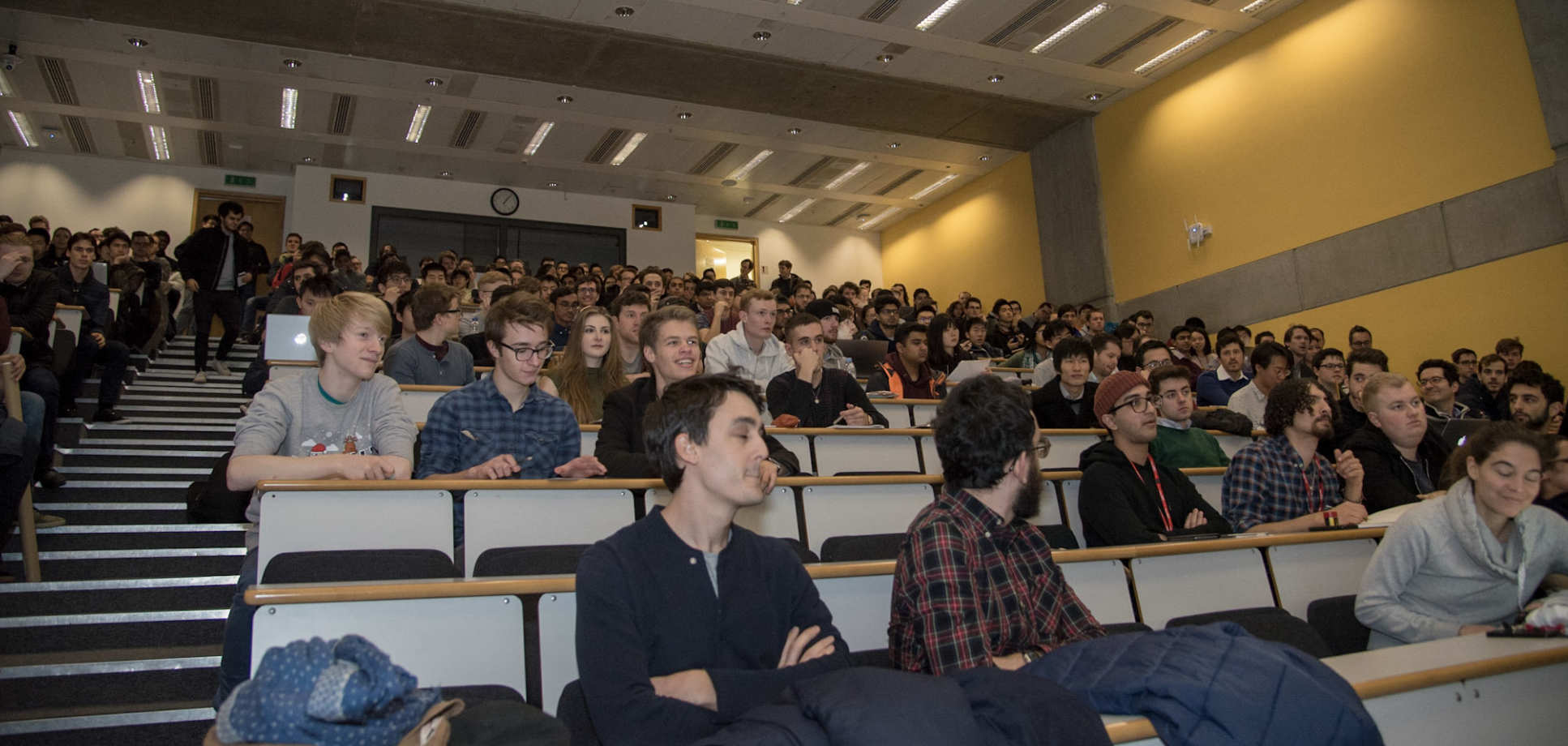 Around 300 Undergraduate and Postgraduate students from diverse backgrounds attended the launch event