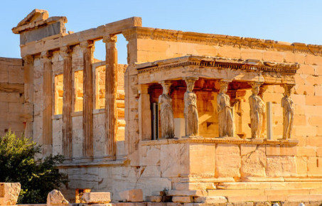 Photograph of the Parthenon in Athens Greece