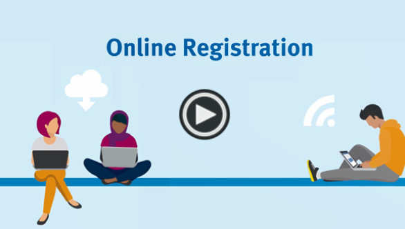 Online registration video