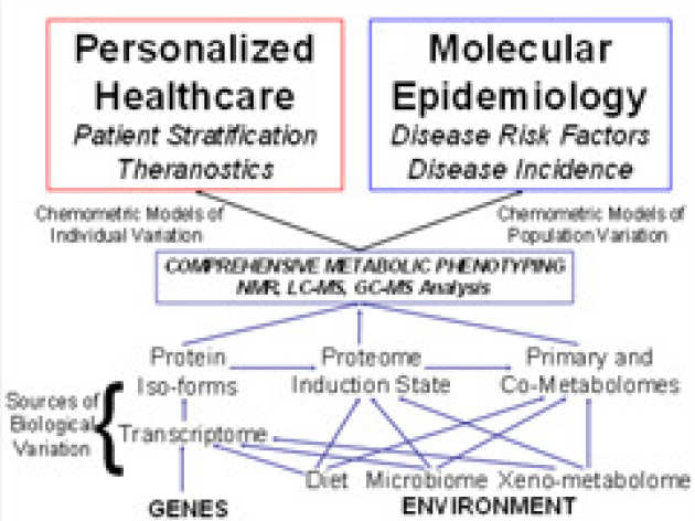 Biomolecular Medicine overview schematic