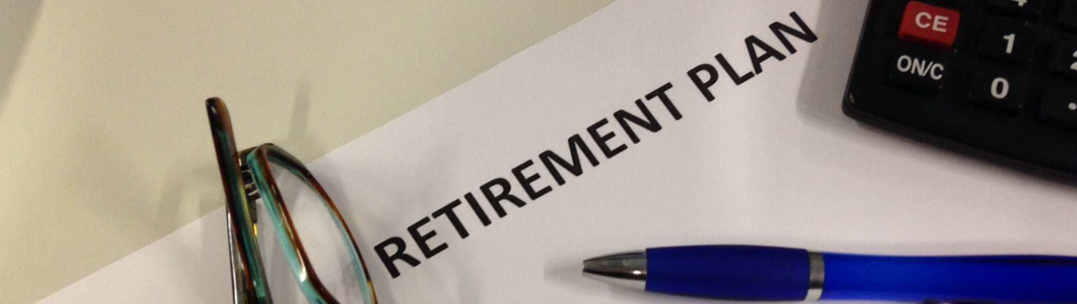 hands holding retirement jar Leaving employment