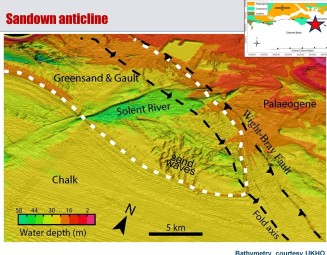 Sandown anticline