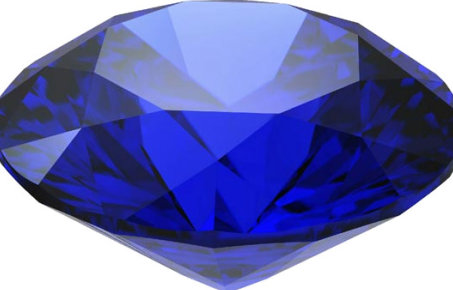 An image of a sapphire gemstone
