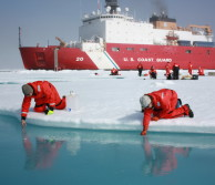 Scientists scoop water out of arctic