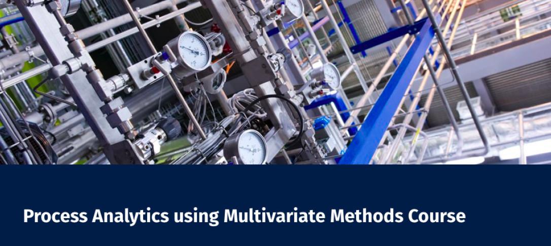 Process Analytics using Multivariate Methods Course