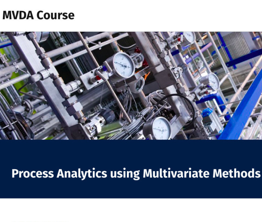 Process Analytics using Multivariate Methods Course