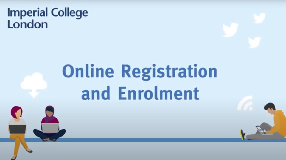 Online Registration and Enrolment