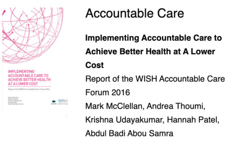 WISH accountable care report cover