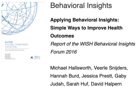 WISH behavioral insights report cover