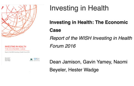 WISH investing in health report cover