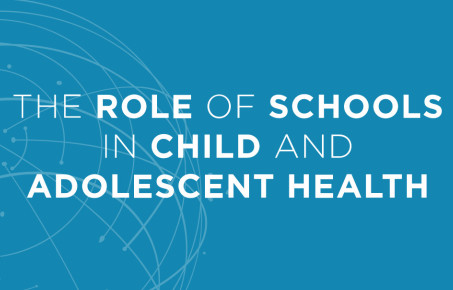 WISH report cover on the role of schools in adolescent and child health