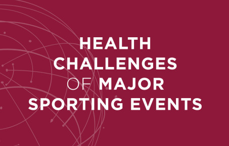 WISH report cover on health challenges of major sporting events