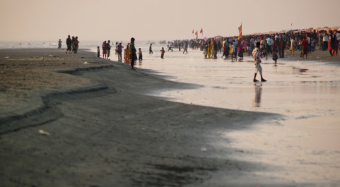 Beach in bangladesh