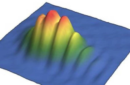 Fringes from an atom interferometer
