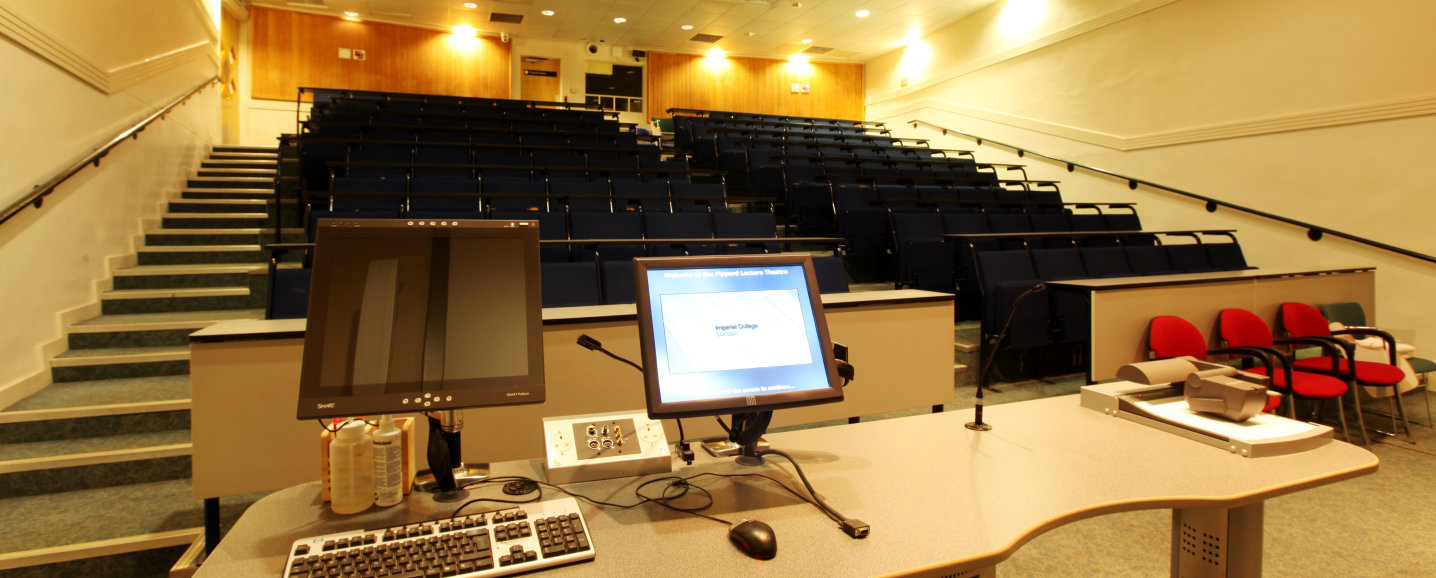 Pippard lecture theatre seating
