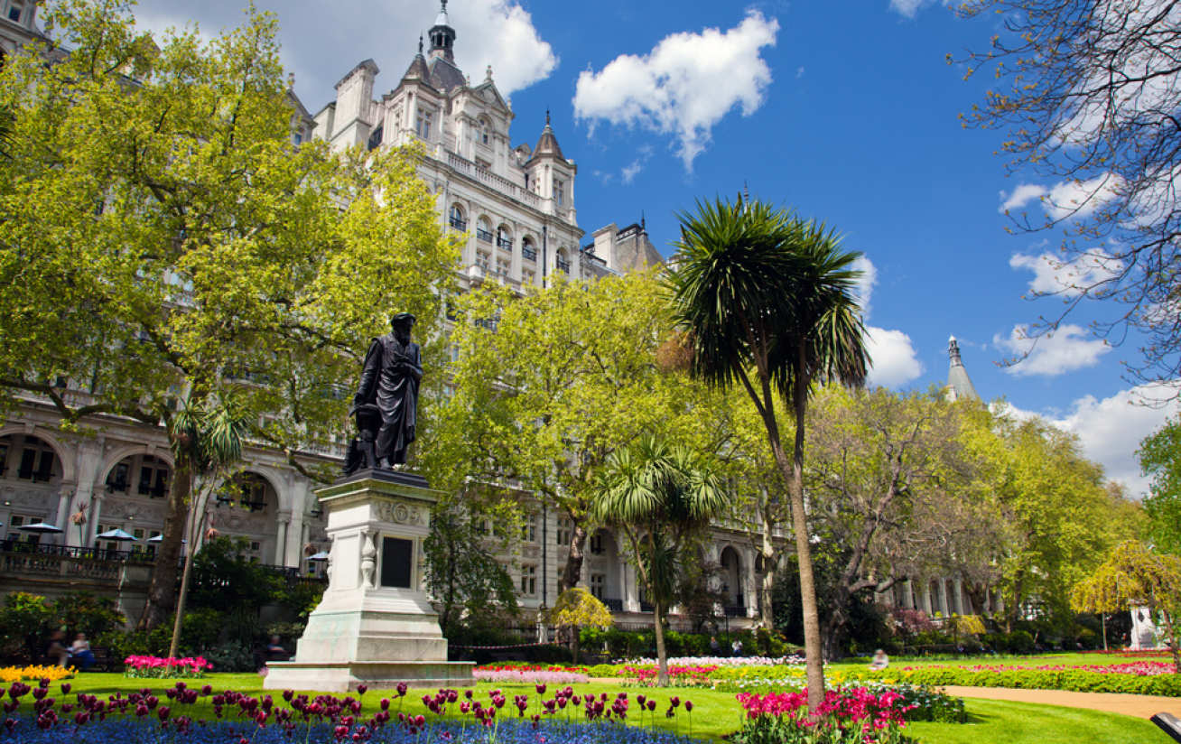 Victoria Embankment Gardens was found to be one of the most polluted parks in London