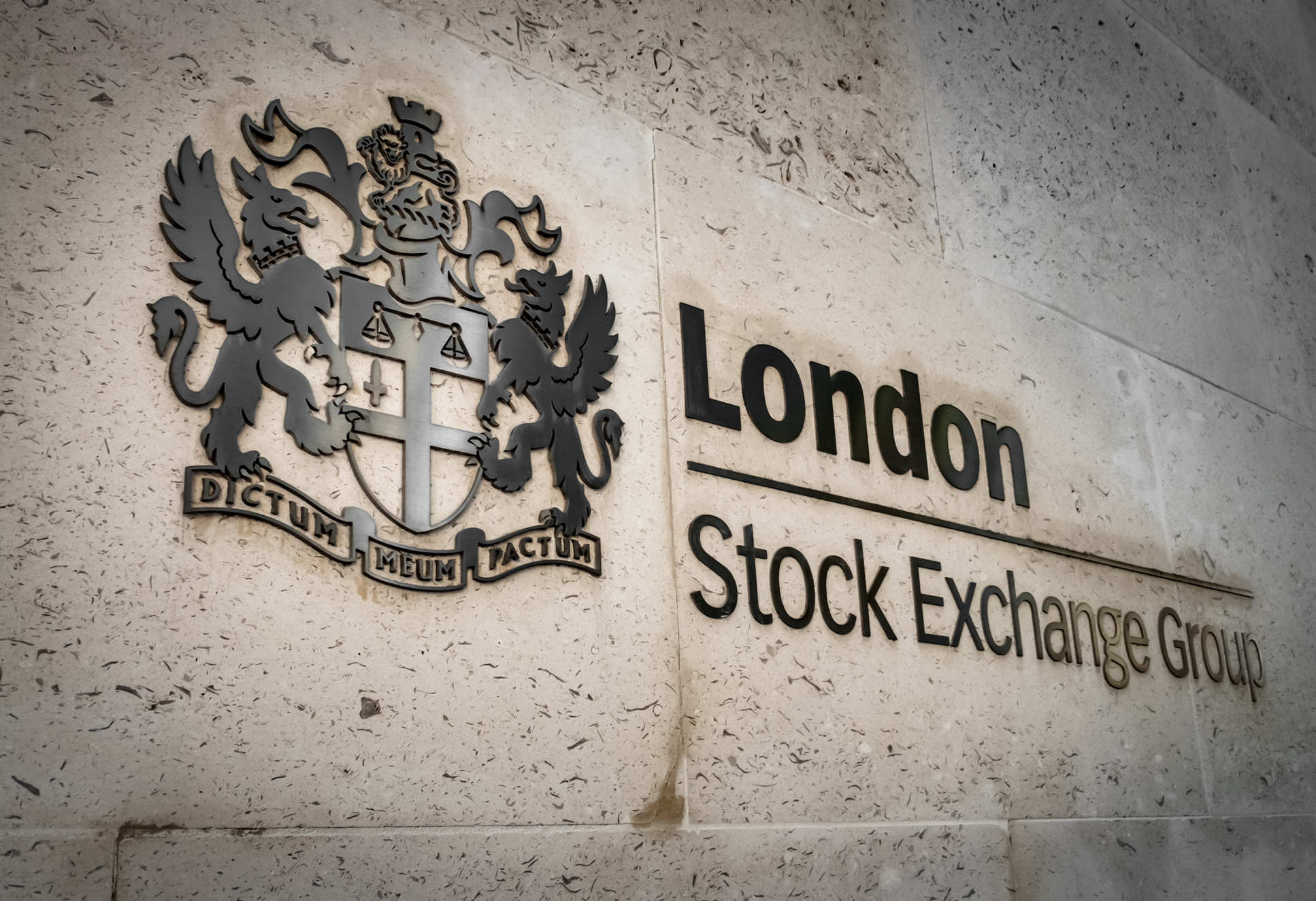 London Stock Exchange Group sign