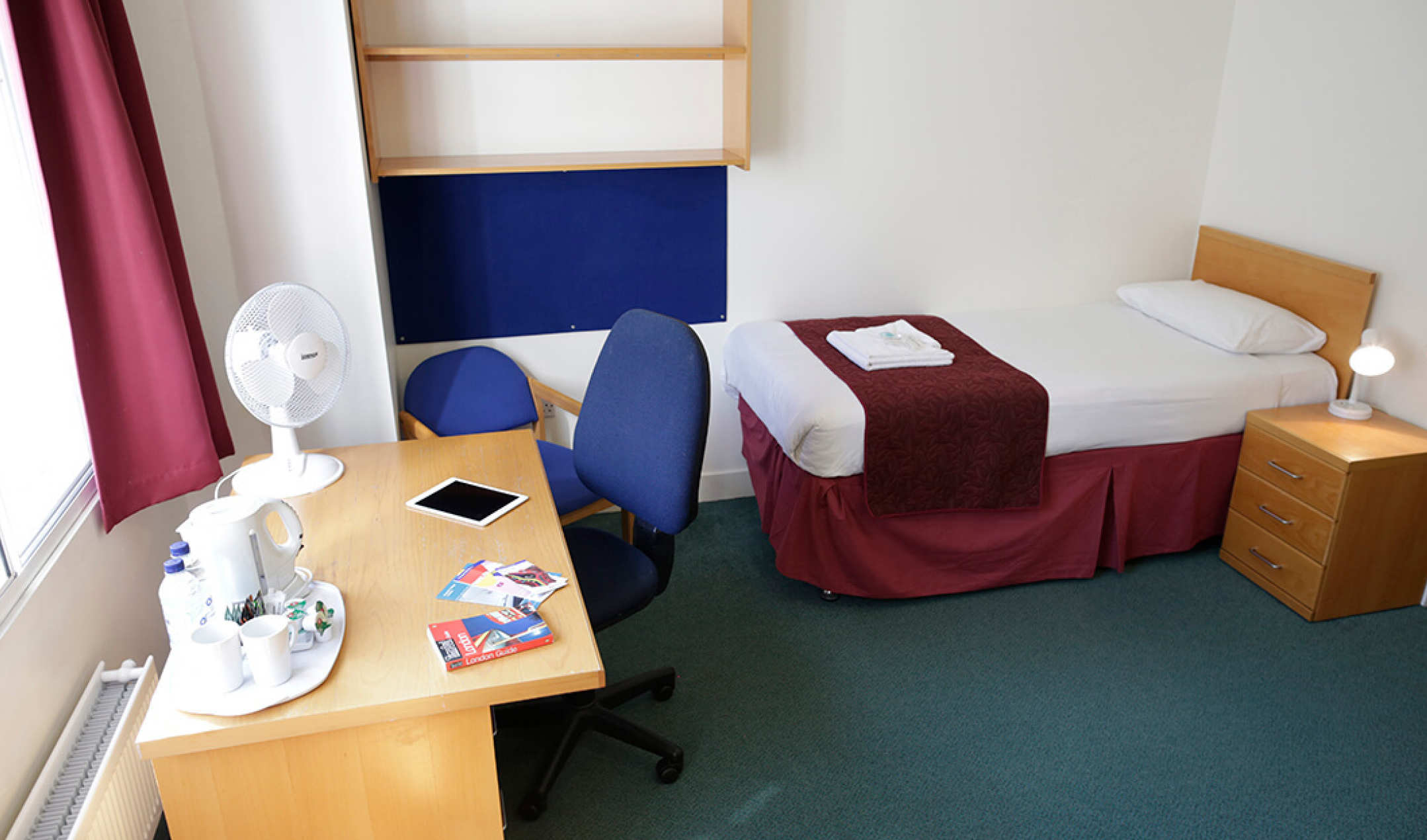 Beit Hall single room accommodation in South Kensington