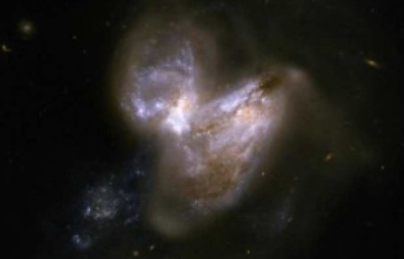 two supermassive black holes