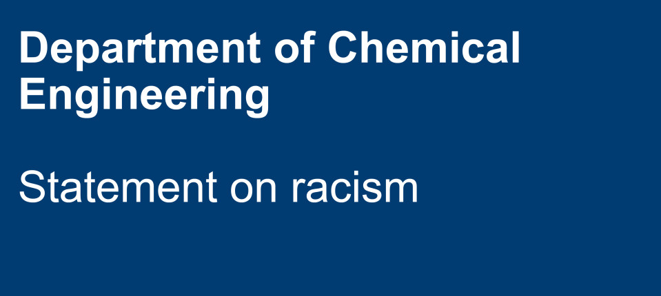 Department statement on racism text