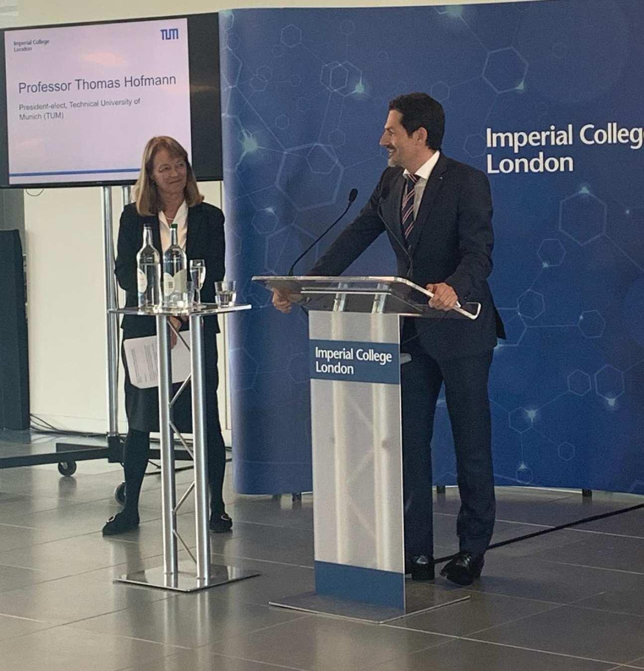 TU Munich expands Imperial partnership in AI, healthcare
