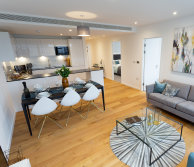 Furnished three-bedroom apartment at Eighty Eight Wood Lane