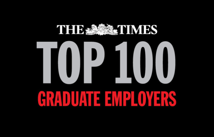Cover image of the Times Top 100 Graduate Employers