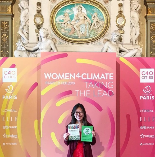 Tina Chen at the Women4Climate 2019 summit