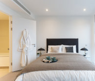 Furnished two-bedroom apartment at eighty eight Wood Lane