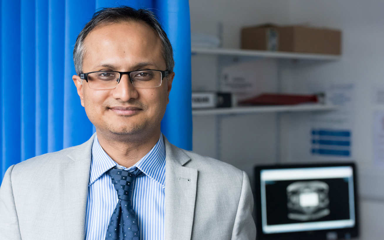 Professor Hashim Ahmed, Chair of Urology at Imperial College London