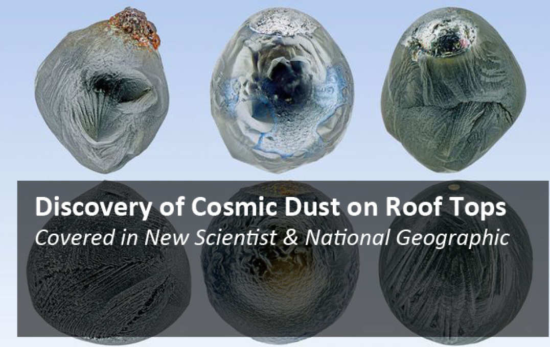 Cosmic dust on roof tops
