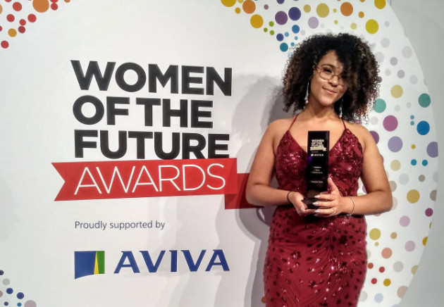Vanessa Madu at the Women of the Future Awards